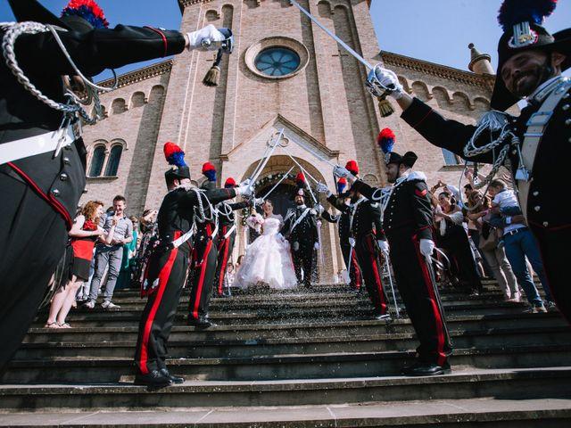 Il matrimonio di Michele e Giulia a Guiglia, Modena 17