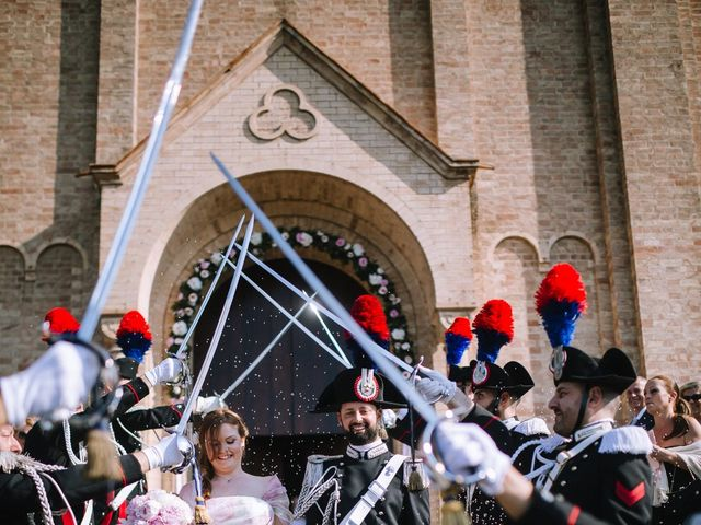 Il matrimonio di Michele e Giulia a Guiglia, Modena 55