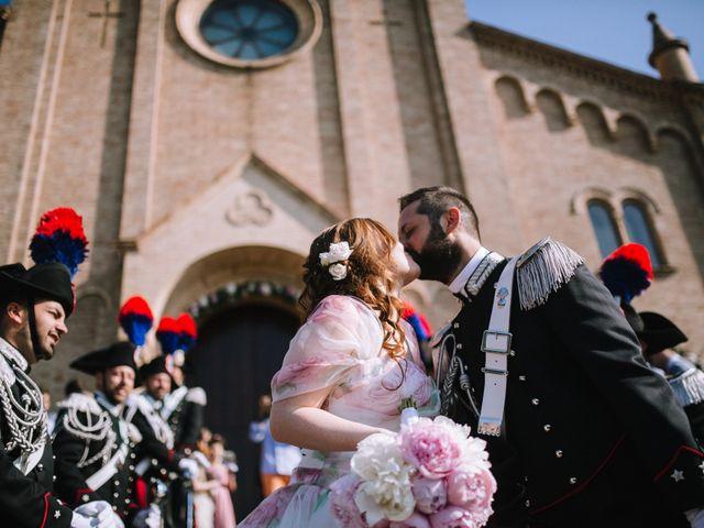 Il matrimonio di Michele e Giulia a Guiglia, Modena 57