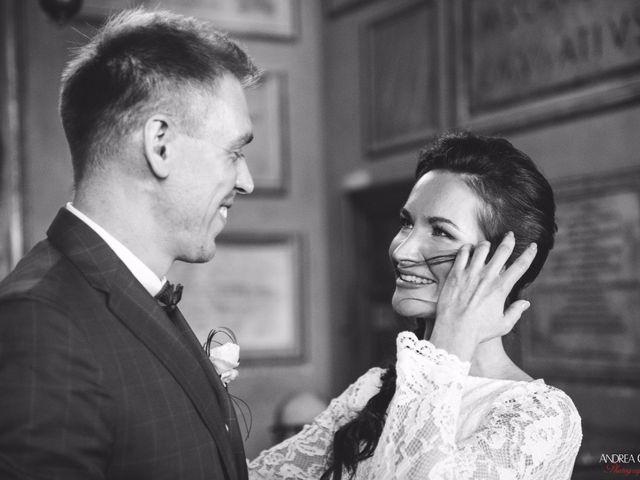 le nozze di Olga e Anton
