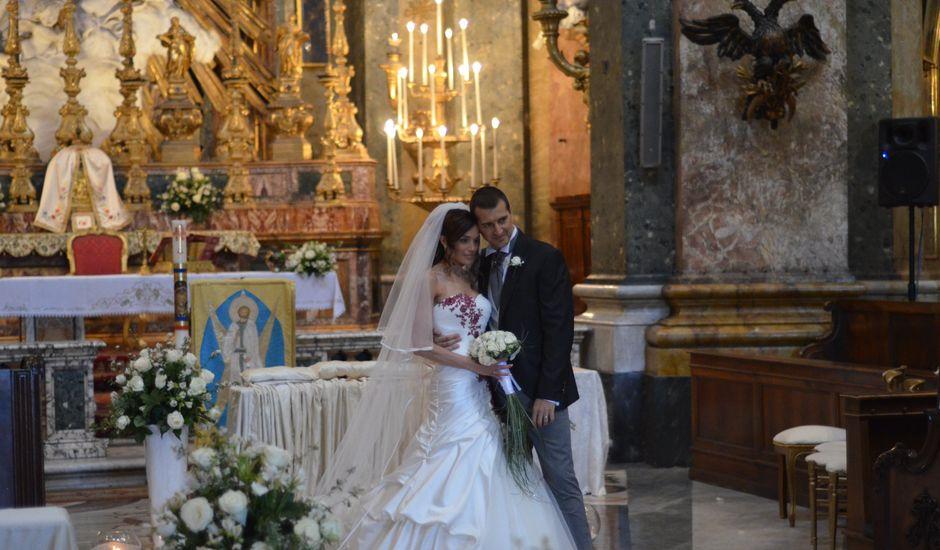 Il matrimonio di Maria e Massimiliano a Roma, Roma