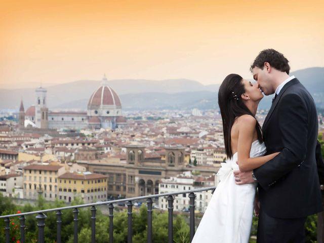le nozze di Lavinia e Sergio