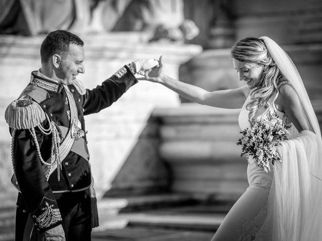 Il matrimonio di Fabio e Ludovica a Roma, Roma 1