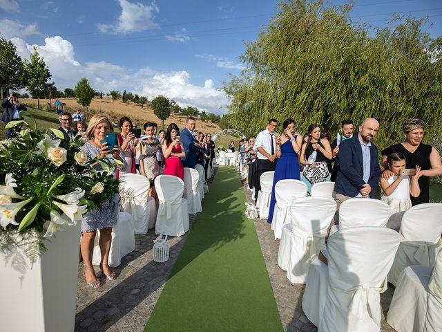 Il matrimonio di Daniele e Chiara a Montaione, Firenze 25