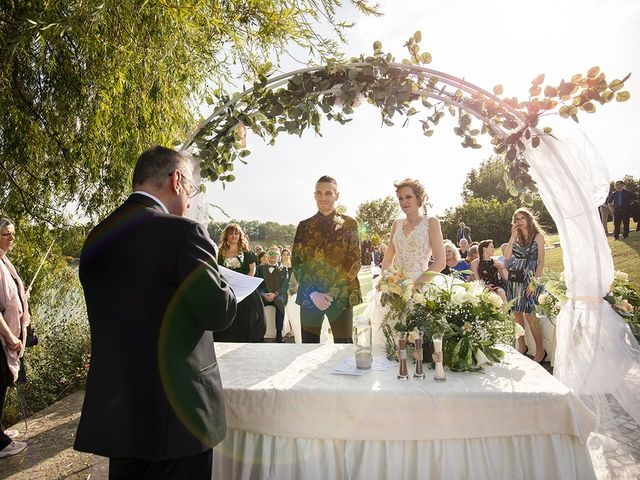 Il matrimonio di Daniele e Chiara a Montaione, Firenze 27