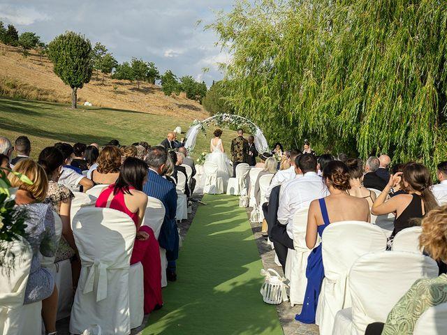 Il matrimonio di Daniele e Chiara a Montaione, Firenze 28