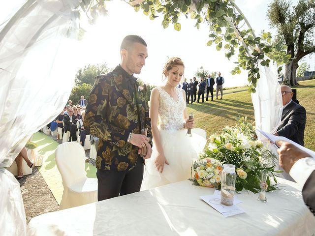Il matrimonio di Daniele e Chiara a Montaione, Firenze 30