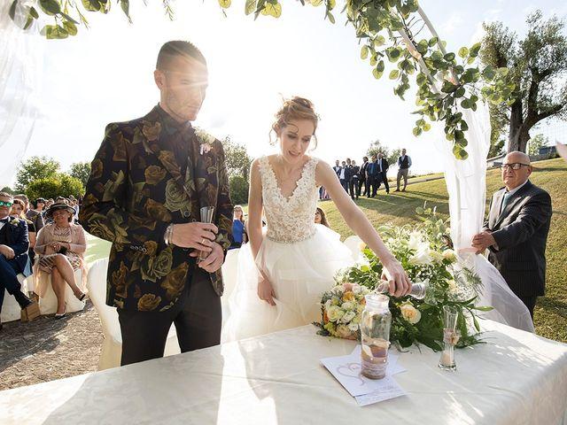 Il matrimonio di Daniele e Chiara a Montaione, Firenze 32