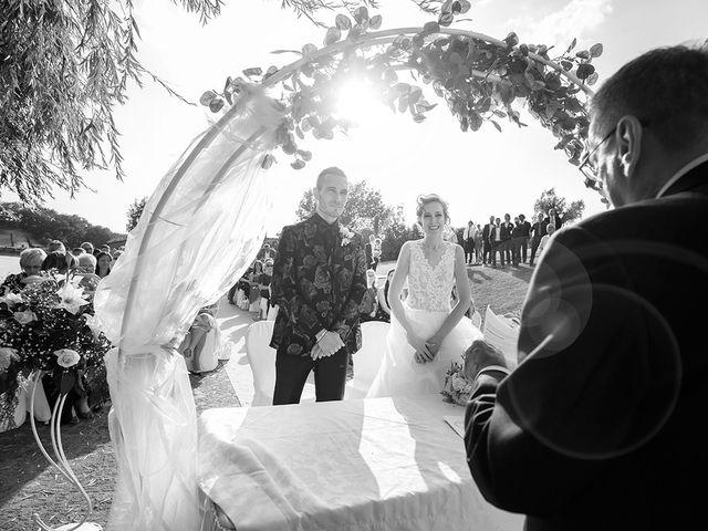 Il matrimonio di Daniele e Chiara a Montaione, Firenze 34
