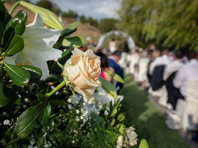 Il matrimonio di Daniele e Chiara a Montaione, Firenze 35