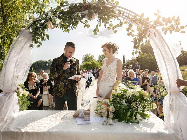 Il matrimonio di Daniele e Chiara a Montaione, Firenze 37