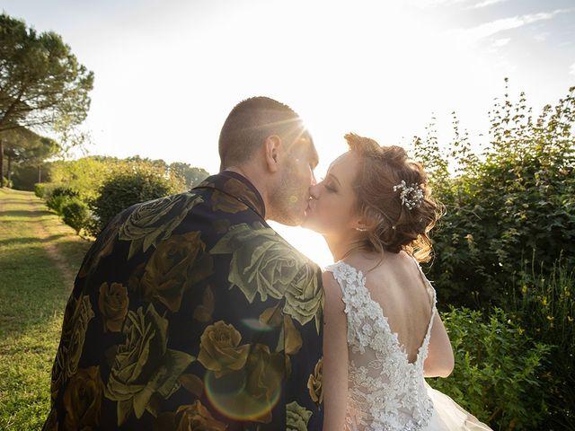 Il matrimonio di Daniele e Chiara a Montaione, Firenze 44