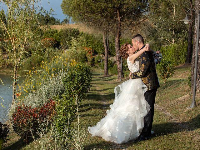 Il matrimonio di Daniele e Chiara a Montaione, Firenze 45