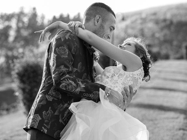 Il matrimonio di Daniele e Chiara a Montaione, Firenze 46