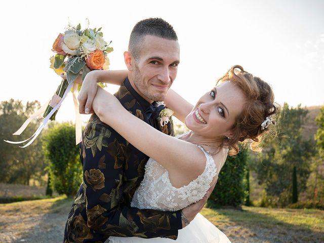 Il matrimonio di Daniele e Chiara a Montaione, Firenze 48