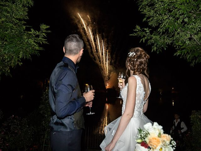 Il matrimonio di Daniele e Chiara a Montaione, Firenze 70