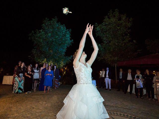 Il matrimonio di Daniele e Chiara a Montaione, Firenze 73