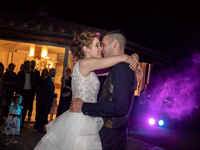 Il matrimonio di Daniele e Chiara a Montaione, Firenze 77