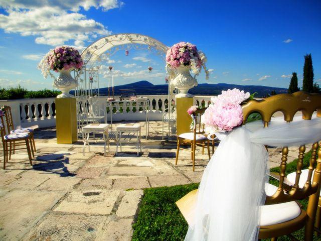 Il matrimonio di Devid e Chiara a Bassano Romano, Viterbo 7