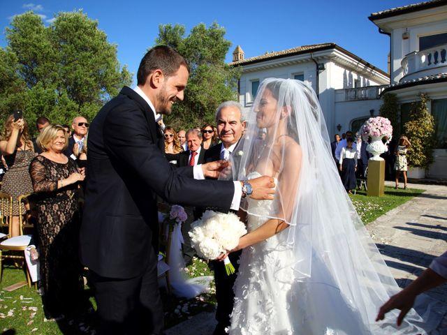 Il matrimonio di Devid e Chiara a Bassano Romano, Viterbo 10