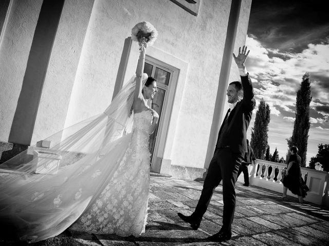 Il matrimonio di Devid e Chiara a Bassano Romano, Viterbo 11