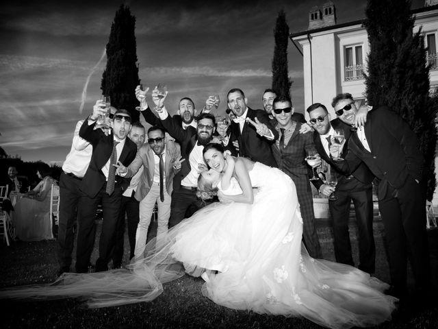 Il matrimonio di Devid e Chiara a Bassano Romano, Viterbo 19