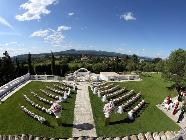 Il matrimonio di Devid e Chiara a Bassano Romano, Viterbo 32
