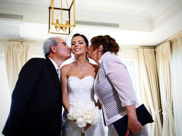 Il matrimonio di Devid e Chiara a Bassano Romano, Viterbo 33