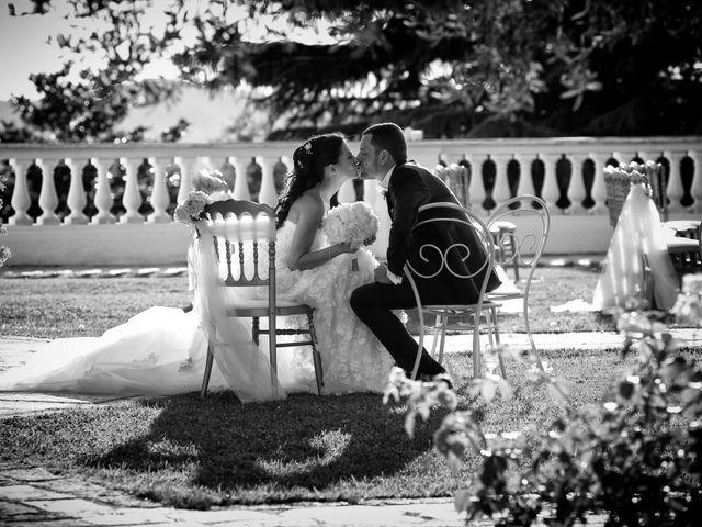 Il matrimonio di Devid e Chiara a Bassano Romano, Viterbo 40