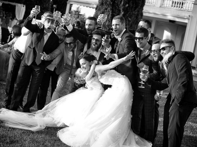 Il matrimonio di Devid e Chiara a Bassano Romano, Viterbo 42