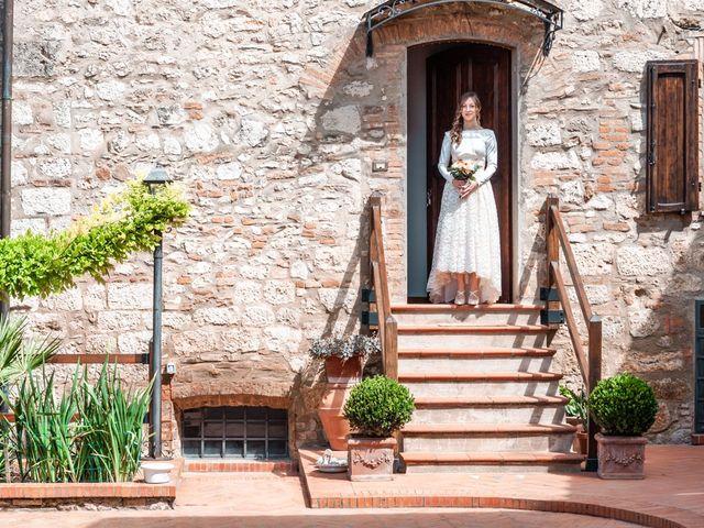 Il matrimonio di Gionatan e Francesca a Colle di Val d'Elsa, Siena 7