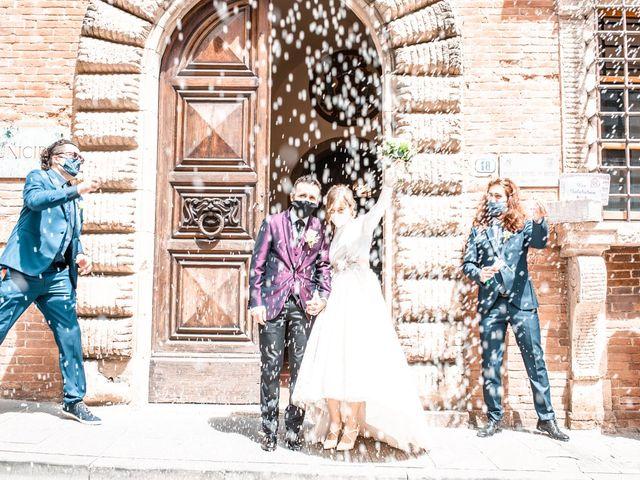 Il matrimonio di Gionatan e Francesca a Colle di Val d'Elsa, Siena 11