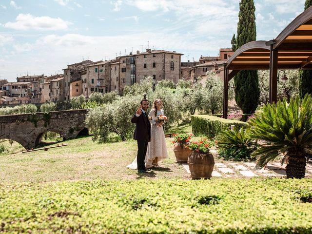 Il matrimonio di Gionatan e Francesca a Colle di Val d'Elsa, Siena 13