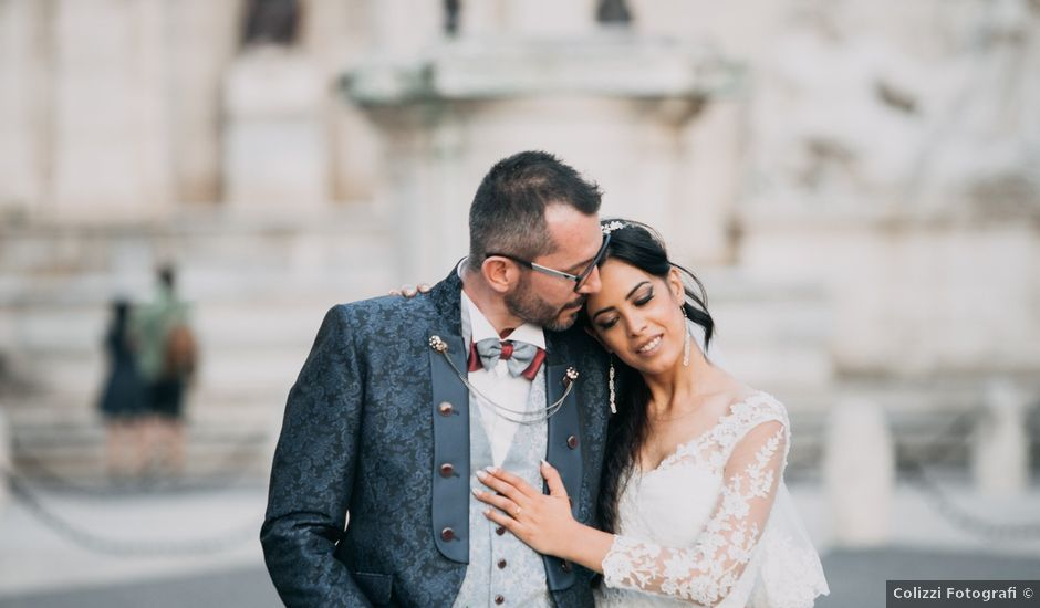 Il matrimonio di Heros e Veronica a Roma, Roma
