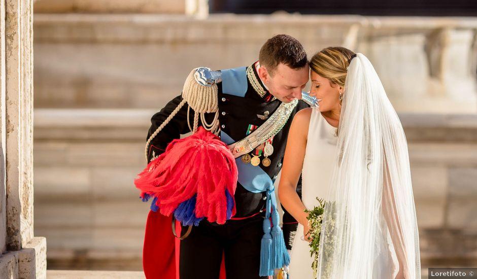 Il matrimonio di Fabio e Ludovica a Roma, Roma