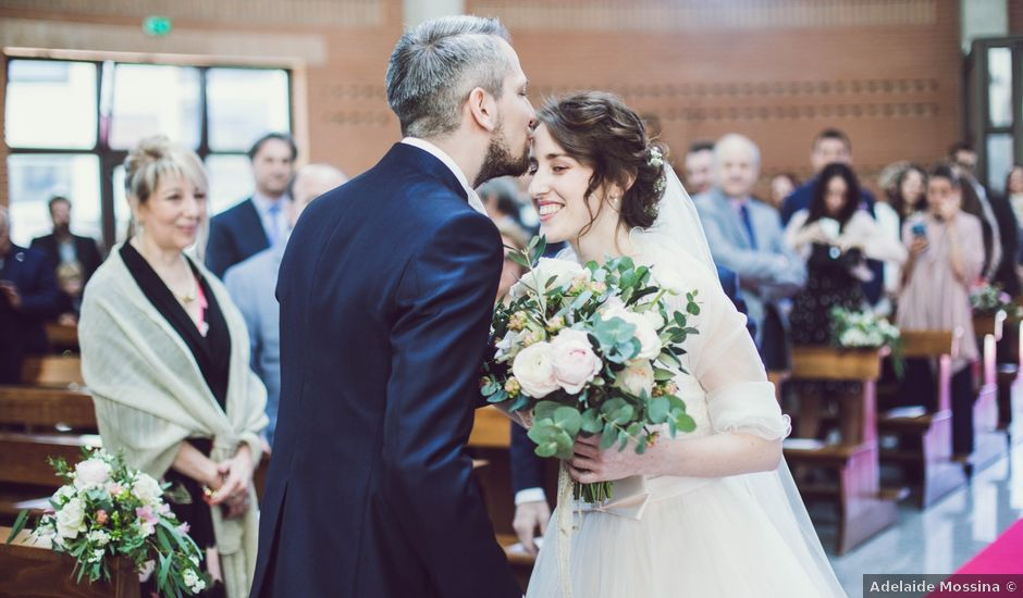 Il matrimonio di Elia e Eris a Casale Monferrato, Alessandria