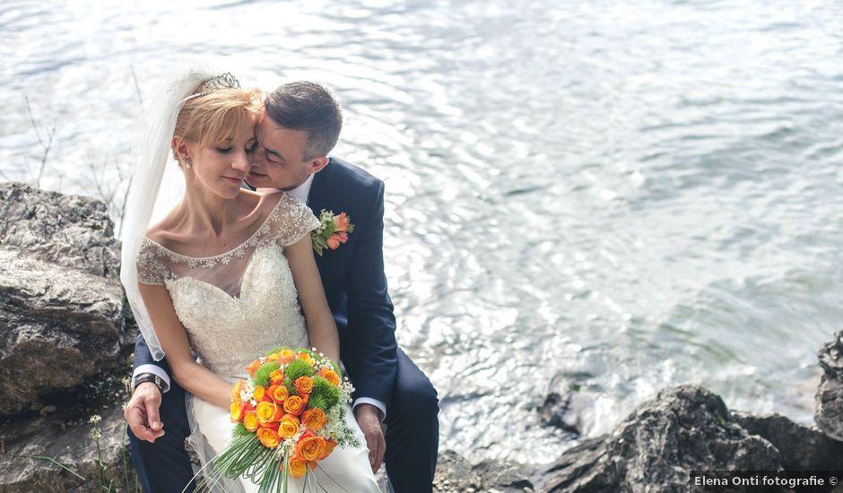 Il matrimonio di Amedeo e Siria a Luino, Varese