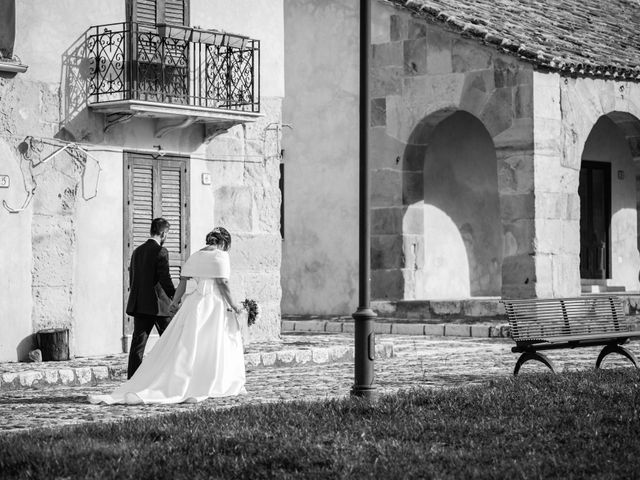 Il matrimonio di Vincenzo e Elisabetta a Corleone, Palermo 43