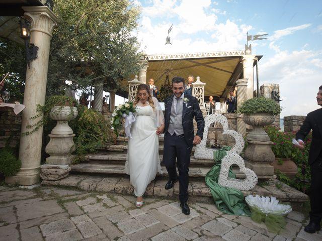 Il matrimonio di Eleonora e Andrea a Casaprota, Rieti 33