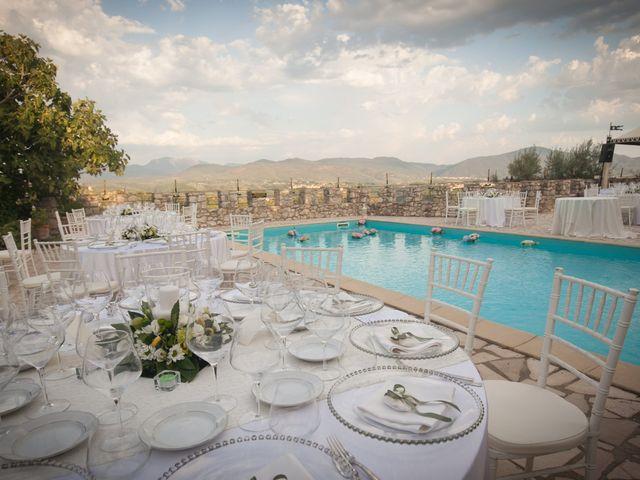 Il matrimonio di Eleonora e Andrea a Casaprota, Rieti 36