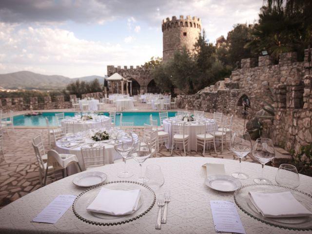 Il matrimonio di Eleonora e Andrea a Casaprota, Rieti 43