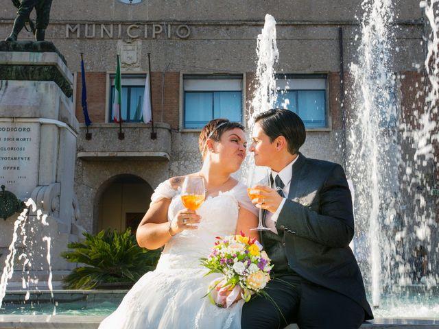 Il matrimonio di Francesca e Federica a Codigoro, Ferrara 7