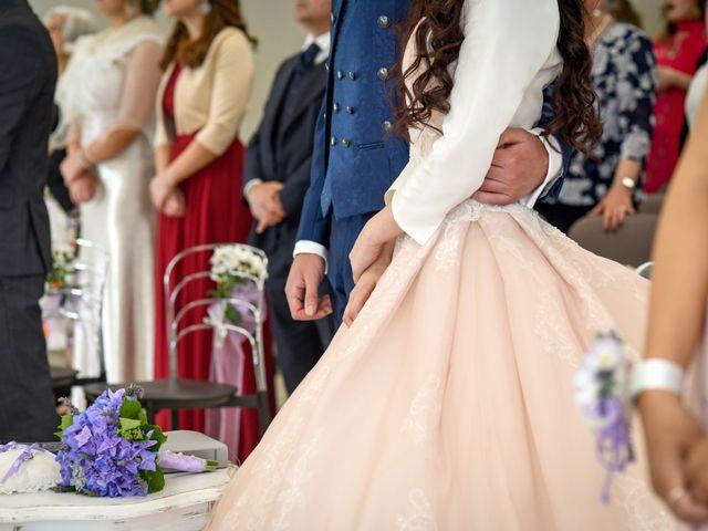 Le nozze di Giorgia e Andrea