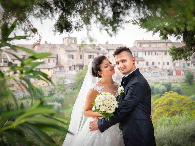 Il matrimonio di Andrea e Sara a Colle di Val d'Elsa, Siena 21