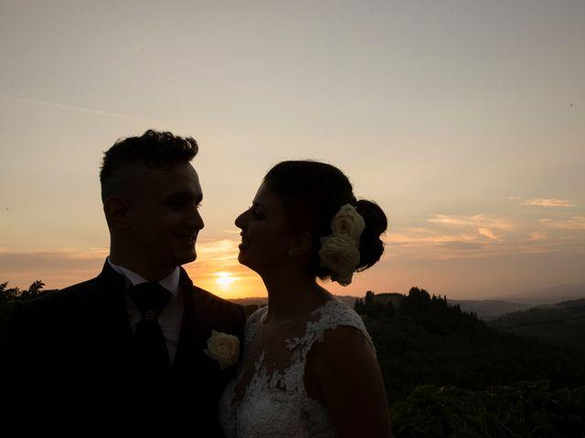 Il matrimonio di Andrea e Sara a Colle di Val d'Elsa, Siena 1