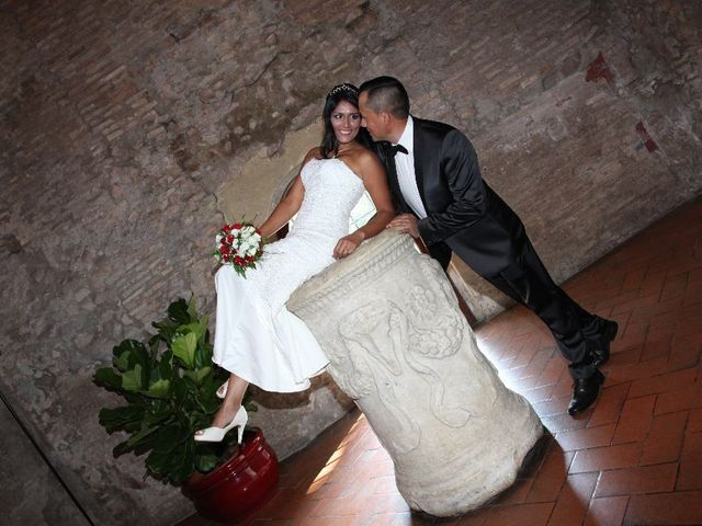 Il matrimonio di Wimper e Monica a Roma, Roma 17