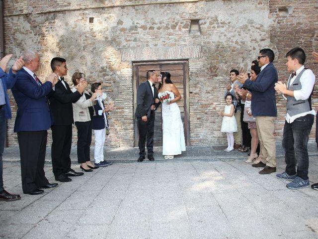 Il matrimonio di Wimper e Monica a Roma, Roma 19