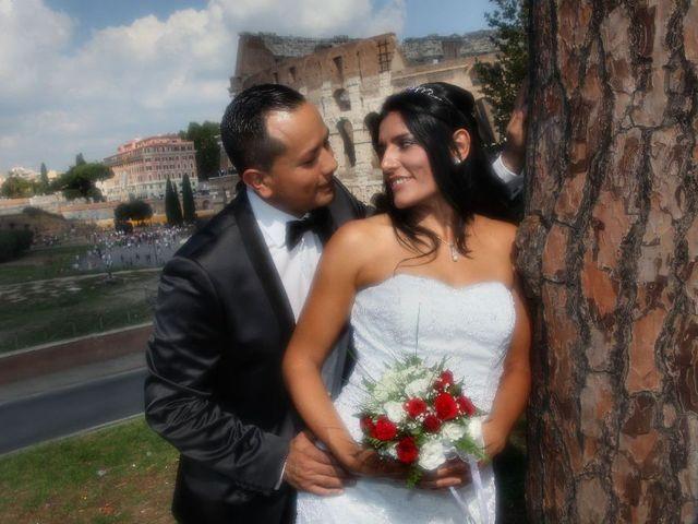 Il matrimonio di Wimper e Monica a Roma, Roma 20