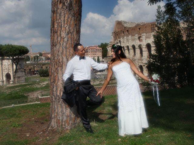 Il matrimonio di Wimper e Monica a Roma, Roma 21