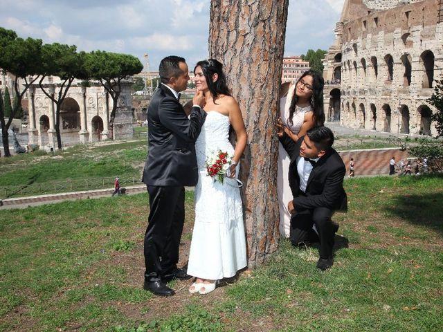 Il matrimonio di Wimper e Monica a Roma, Roma 23